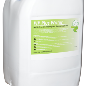 PIP Plus Water Traenkereiniger und alternative zur Wasserdesinfektion