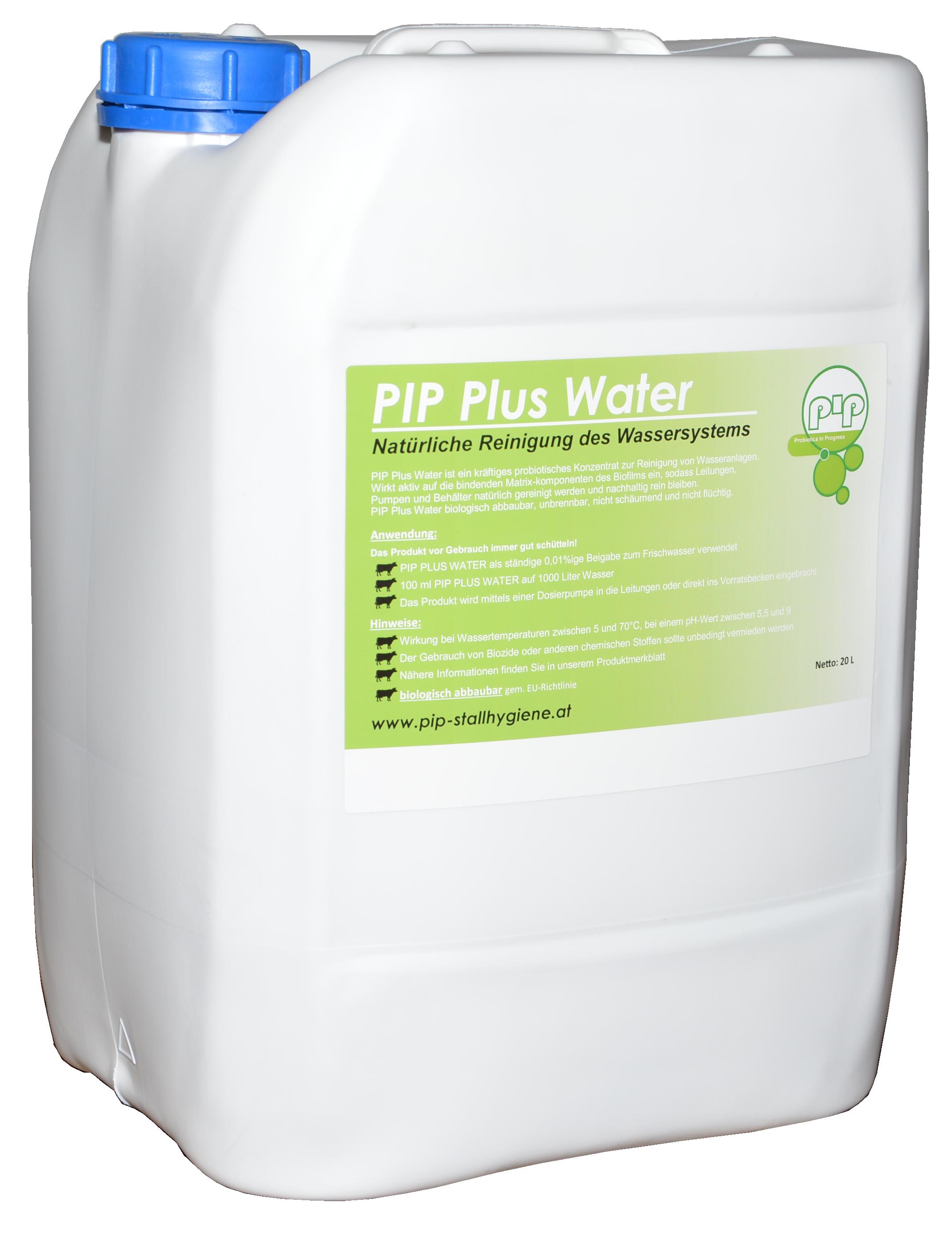 PIP Plus Water Traenkereiniger und alternative zur Wasserdesinfektion
